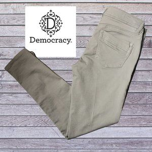 DEMOCRACY AB TECHNOLOGY FREEDOM ANKLE LENGTH JEANS